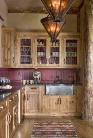 Lovely Rustic Western Style Kitchen Decorations Ideas 41