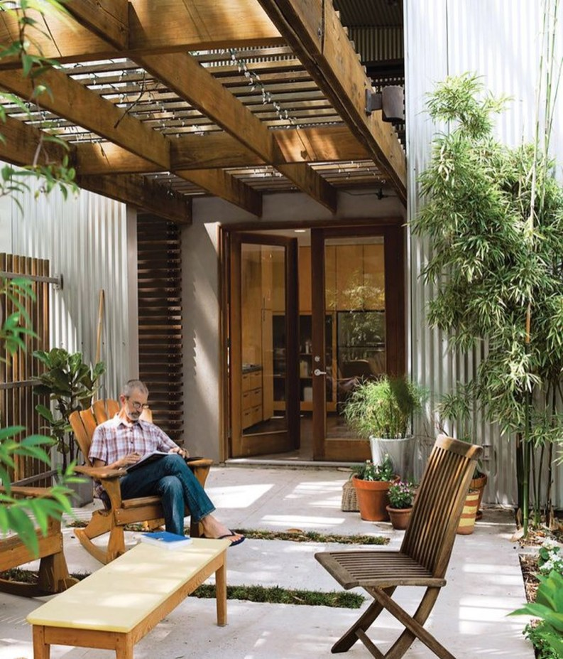 Modern Patio On Backyard Ideas24