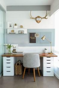 Simple Desk Workspace Design Ideas 02