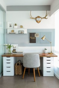 Simple Desk Workspace Design Ideas 02