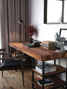 Simple Desk Workspace Design Ideas 05