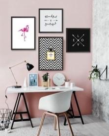 Simple Desk Workspace Design Ideas 23