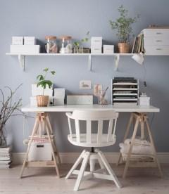 Simple Desk Workspace Design Ideas 26