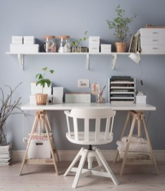Simple Desk Workspace Design Ideas 26