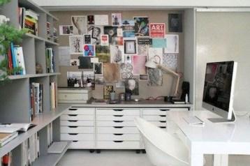 Simple Desk Workspace Design Ideas 33