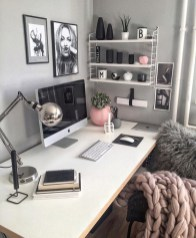 Simple Desk Workspace Design Ideas 34