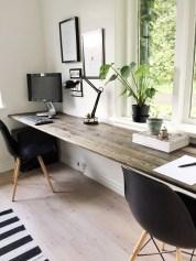 Simple Desk Workspace Design Ideas 35