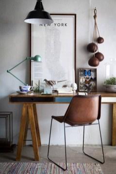 Simple Desk Workspace Design Ideas 36