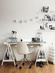 Simple Desk Workspace Design Ideas 42