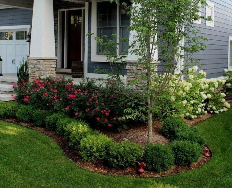 Wonderful Landscaping Front Yard Ideas36
