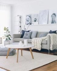 Wonderful Scandinavian Livingroom Decorations Ideas13