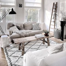Wonderful Scandinavian Livingroom Decorations Ideas14