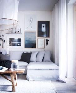 Wonderful Scandinavian Livingroom Decorations Ideas18
