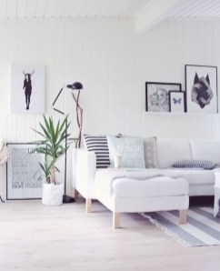 Wonderful Scandinavian Livingroom Decorations Ideas19
