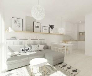 Wonderful Scandinavian Livingroom Decorations Ideas40