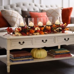 Attractive Diy Halloween Living Room Decoration Ideas10