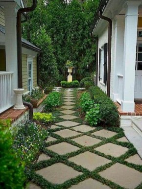 Awesome Diy Garden Path Inspiration Ideas01
