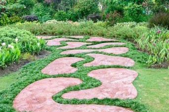 Awesome Diy Garden Path Inspiration Ideas04