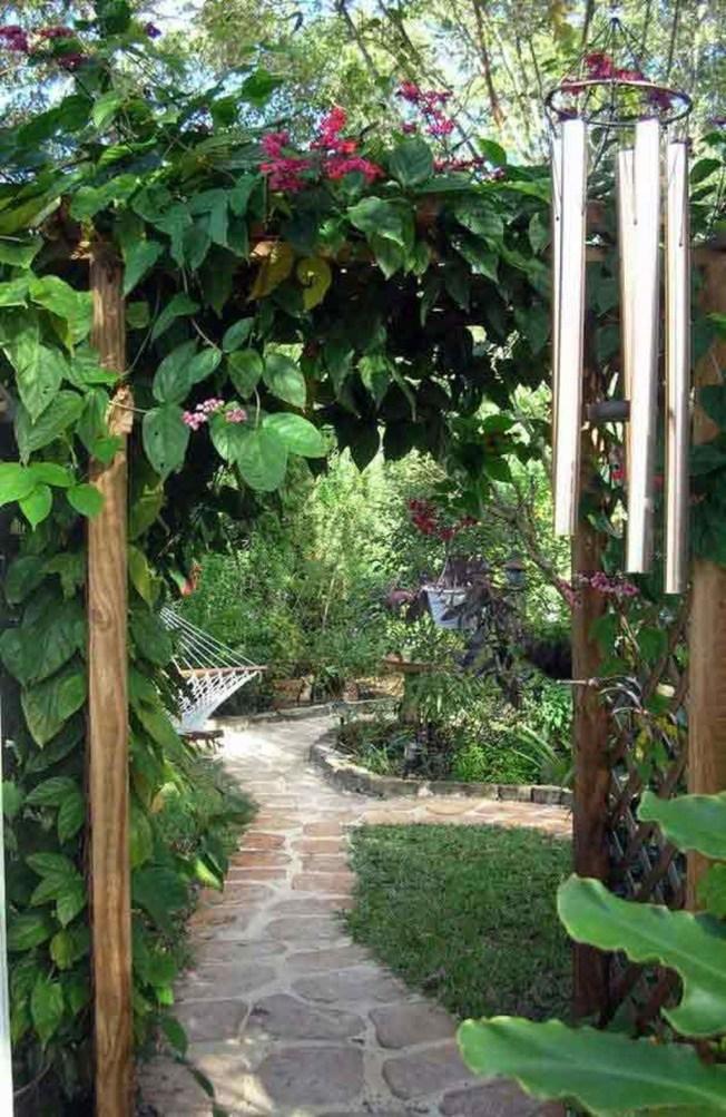 Awesome Diy Garden Path Inspiration Ideas11