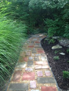 Awesome Diy Garden Path Inspiration Ideas18