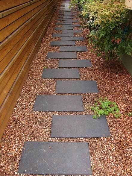 Awesome Diy Garden Path Inspiration Ideas20