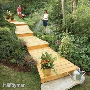 Awesome Diy Garden Path Inspiration Ideas22