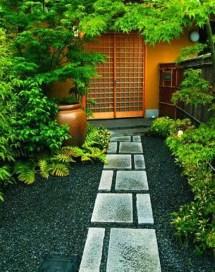 Awesome Diy Garden Path Inspiration Ideas24