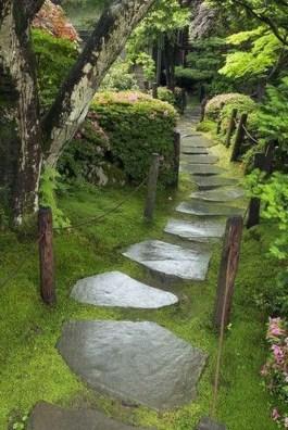 Awesome Diy Garden Path Inspiration Ideas29