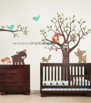 Charming Wall Sticker Babys Room Ideas07