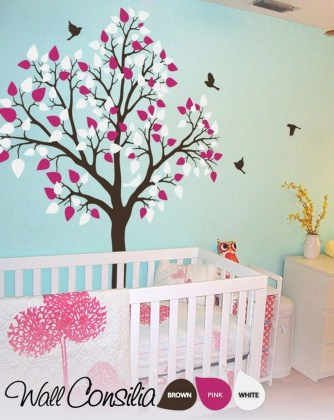 Charming Wall Sticker Babys Room Ideas08
