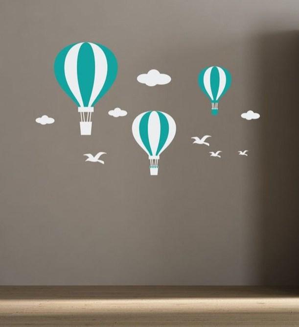Charming Wall Sticker Babys Room Ideas12