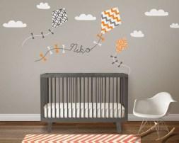 Charming Wall Sticker Babys Room Ideas14