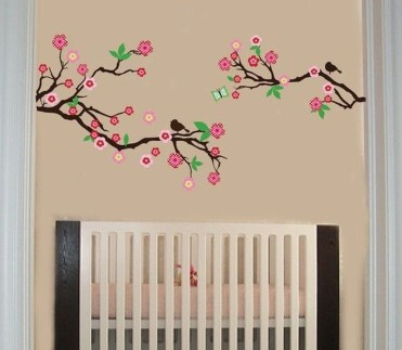Charming Wall Sticker Babys Room Ideas18