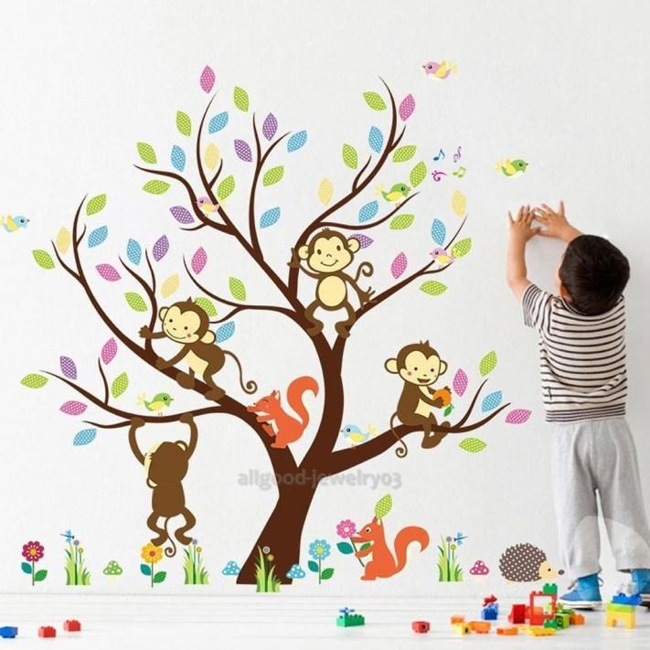 Charming Wall Sticker Babys Room Ideas21