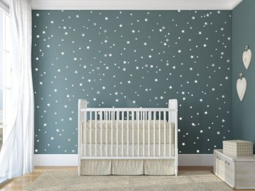 Charming Wall Sticker Babys Room Ideas25