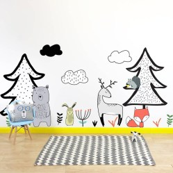 Charming Wall Sticker Babys Room Ideas29