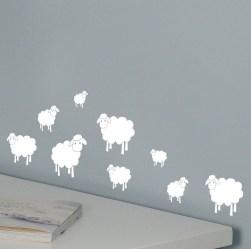 Charming Wall Sticker Babys Room Ideas30