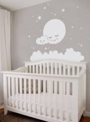 Charming Wall Sticker Babys Room Ideas31
