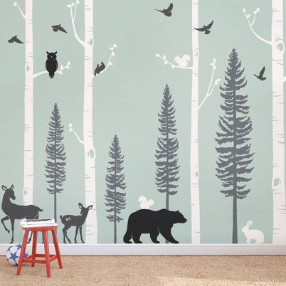 Charming Wall Sticker Babys Room Ideas35