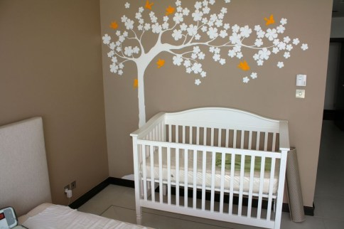 Charming Wall Sticker Babys Room Ideas38