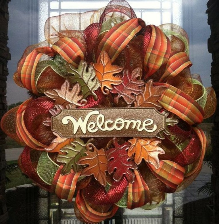 Cheap Iy Fall Wreaths Ideas06