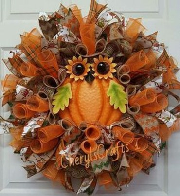 Cheap Iy Fall Wreaths Ideas08