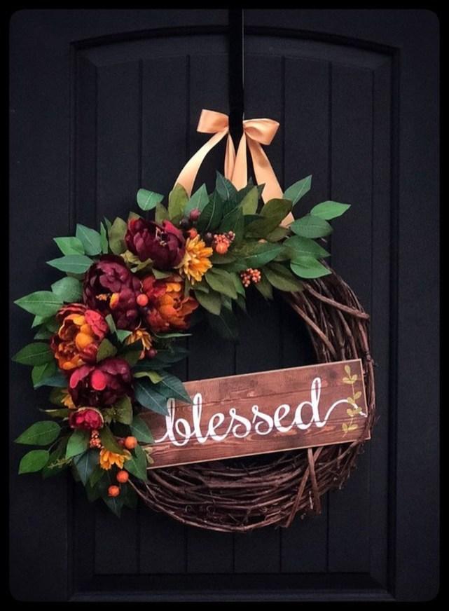 Cheap Iy Fall Wreaths Ideas22