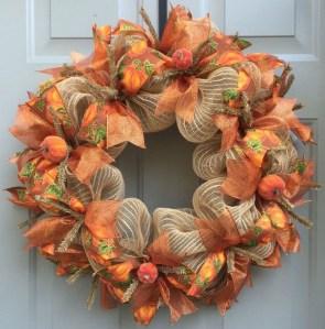 Cheap Iy Fall Wreaths Ideas36