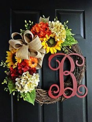 Cheap Iy Fall Wreaths Ideas41