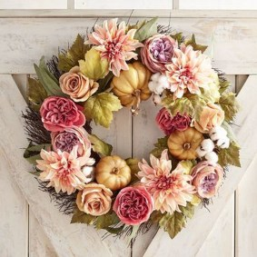 Cheap Iy Fall Wreaths Ideas44
