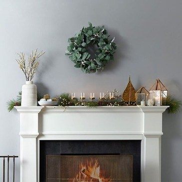 Fantastic Winter Mantle Decoration Ideas09