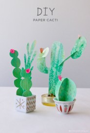 Gorgeous Fun Colorful Paper Decor Crafts Ideas26