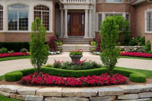 Impressive Front Yard Landscaping Garden Designs Ideas12
