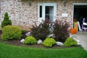 Impressive Front Yard Landscaping Garden Designs Ideas28